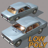 lada wheel 3d model