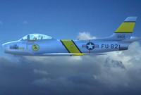 f-86 sabre jet f86 3d 3ds