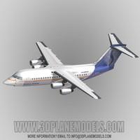 BAe146-200/RJ85 SN Brussels Airlines