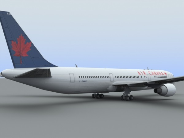 3d model 767-300 air canada - B767-300 Air Canada... by PerspectX