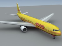 767-300 dhl c4d