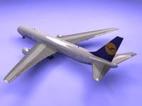 3d 767-300 lufthansa