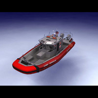 rescue safeboat 3d c4d