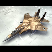 f 15c strike eagle 3d model