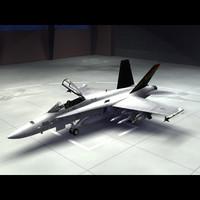 3ds max f 18 hornet navy
