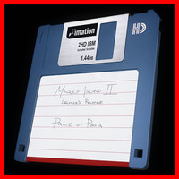 diskette disk 3d 3ds