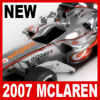 2007 Vodafone McLaren Mercedes MP4-22