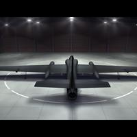 u-2 photographed air 3d model