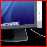 apple display 3d model