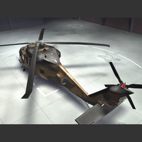 sikorsky blackhawk - australian 3d model