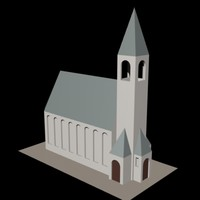free 3ds model church