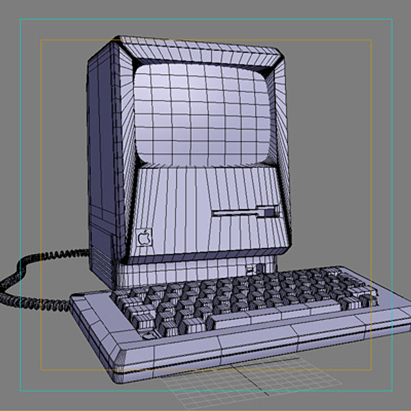 3d model apple macintosh computer - Computer Apple Macintosh... by CutCat