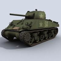 M4A3 Sherman WWII U.S. Tank
