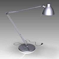 obj desk lamp office
