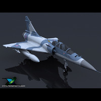 dassault mirage 2000d 3d 3ds