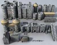 castle construction set