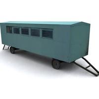 house trailer 3d model