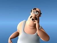 3d model fat man