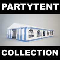 3d photoreal partytent model