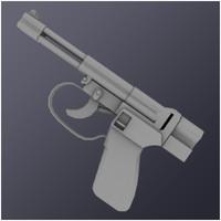 spp-m pistol 3d model