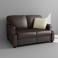 3d sofa loveseat