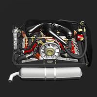flatsix engine max