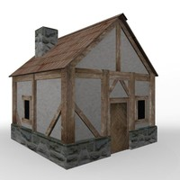 3d 3ds house medieval games