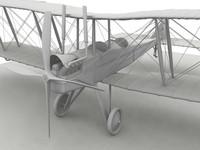 3dsmax be2c aircraft