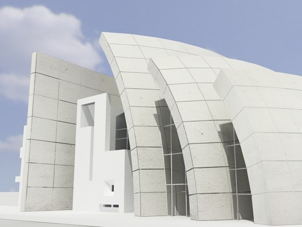 3d jubilee christian center model - jubilee church... by 3d_addict