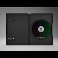 3d dvd case cd