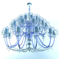 crystal lustre 3d model