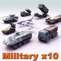 military vehicles truck 3d max