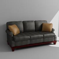 3ds max sofa loveseat