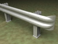 guard rail 3d lw