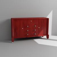 3d cabinet dresser