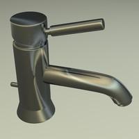 3d model tap faucet