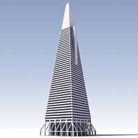3ds max transamerica pyramid