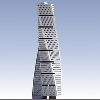 3D Turning Torso Building.zip