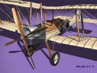 Royal Aircraft Factory BE2c high definition