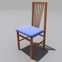 kitchen chair obj
