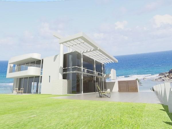 3d model beach house richard meier richard meier architecture by