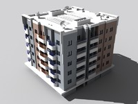 3ds max centaur apartments