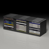 cd shelf 3D models