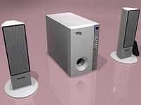3d microlab lexus speaker