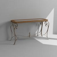tables set 3d max