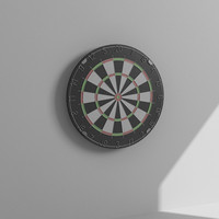 3ds max dart board