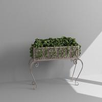 planter 3d max