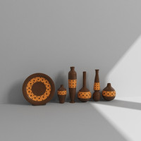 decorative accessories 3d max