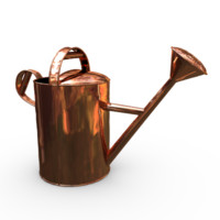 copper watering 3d model