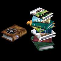 toon book pzsg 3d model